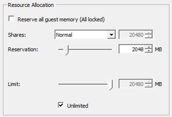 vCloud Air_VM_memory