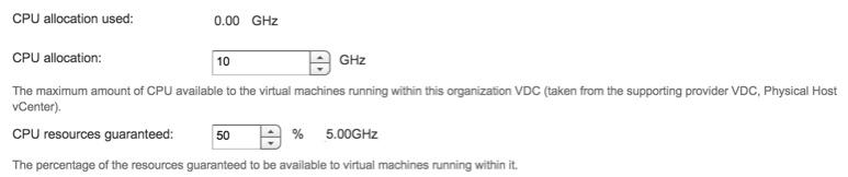 vCloud Air_vCD_CPU