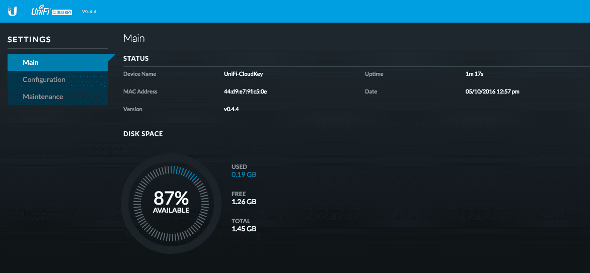 Cloud_Key_dashboard